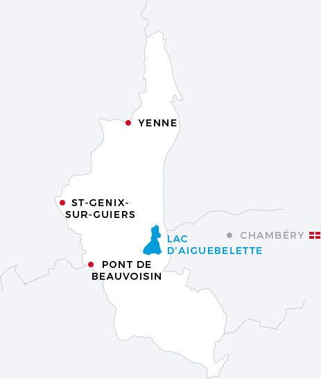 Pays du lac d'Aiguebelette - Nature, exploration, liberté et
