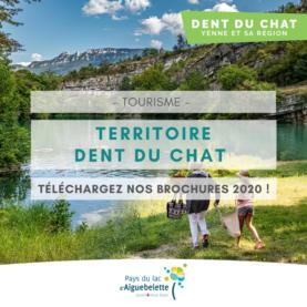 Téléchargez les brochures 2020 du Territoire Dent du Chat - Yenne et sa région