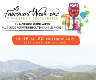 Programmez votre Fascinant Week-end Vignobles et Découvertes entre Rhône et Dent du Chat !