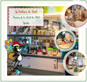 La boutique de Noël à la Maison de la Dent du Chat