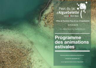 Programme des animations estivales