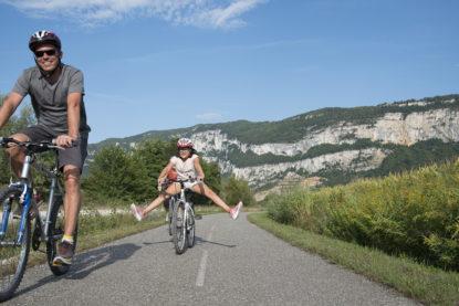 Rallye vélo familial sur la ViaRhôna
