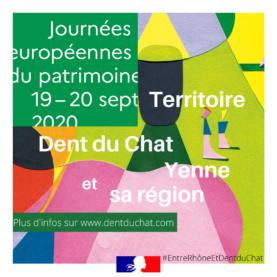 Journées européennes du Patrimoine - Territoire Dent du Chat