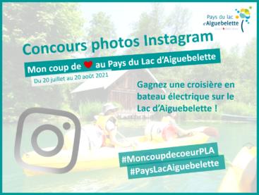 Eté 2021: Participez au concours photo sur Instagram!