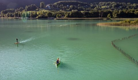 Actu navigation et baignade sur le Lac d'Aiguebelette