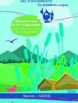 Plaquette 2020 Parcours spectacle lac d'Aiguebelette