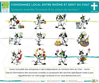 Consommez local entre Rhône et Dent du Chat