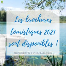 Découvrez les brochures touristiques 2021 !